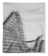 Roller Coaster Wildwood Fleece Blanket