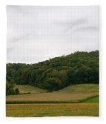 Rolling Fields Fleece Blanket