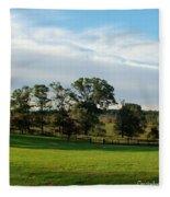 Rolling Hills Near Marriot Ranch Fleece Blanket