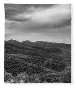 Rolling Hills Of North Carolina Fleece Blanket