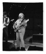 Rolling Through Spokane In 1976 Fleece Blanket