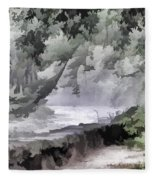 Rolling Waters Fleece Blanket