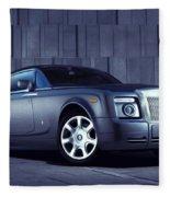 Rolls Royce 3 Fleece Blanket