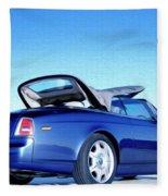Rolls Royce 6 Fleece Blanket