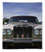 Rolls Royce Corniche 1980 Fleece Blanket