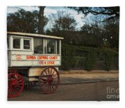 Roman Candy Wagon New Orleans Fleece Blanket