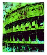 Roman Colosseum Fleece Blanket