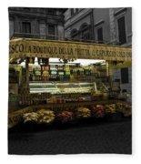 Roman Confectionary Cart Fleece Blanket