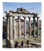 Roman Forum Fleece Blanket