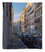 Roman Street Fleece Blanket
