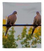 Romantic Moments Fleece Blanket