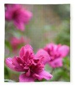 Romantically Pink Fleece Blanket