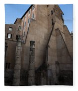 Rome - Centuries Of History And Architecture  Fleece Blanket