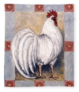 Romeo The Rooster Fleece Blanket