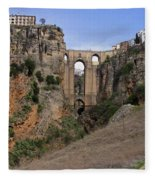 Ronda Spain Fleece Blanket