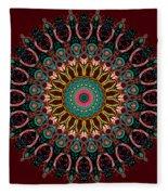 Ronnie Mandala Fleece Blanket