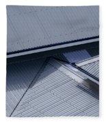 Roof Lines - Montague Island - Australia Fleece Blanket