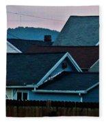 Roof Top Symphony Fleece Blanket
