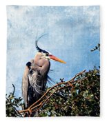 Rookery Great Blue Fleece Blanket