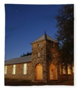Roosevelt Church 2am-105379 Fleece Blanket