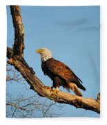 Roosting Tree 2 Fleece Blanket