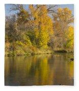 Root River Autumn 1 Fleece Blanket