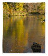 Root River Autumn 2 Fleece Blanket