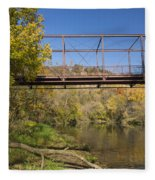 Root River Autumn 3 Fleece Blanket