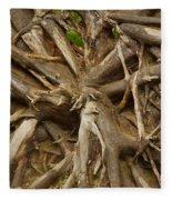 Root System Fleece Blanket
