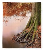 Roots Fleece Blanket