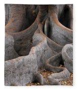 Roots Of The Fig Fleece Blanket