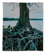 Roots On The Bay Fleece Blanket