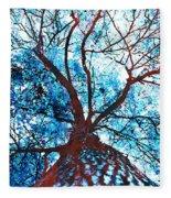 Roots To Branches II Fleece Blanket