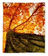 Roots To Branches IIi Fleece Blanket
