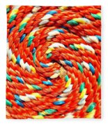 Rope Fleece Blanket