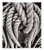 Rope Fleece Blanket