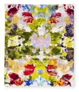 Rorschach Test Fleece Blanket