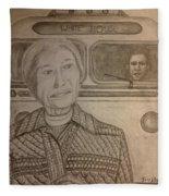 Rosa Parks Imagined Progress Fleece Blanket