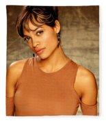 Rosario Dawson  Fleece Blanket