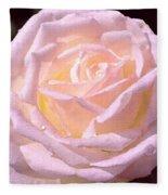 Rose 169 Fleece Blanket