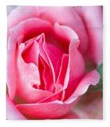 Rose And Bud Fleece Blanket