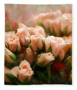 Rose Blush Fleece Blanket