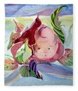 Rose Bud Fleece Blanket