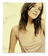 Rose Byrne Fleece Blanket