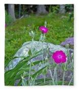 Rose Campion Fleece Blanket
