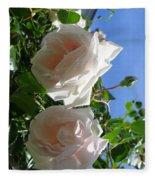 Rose Duo Fleece Blanket