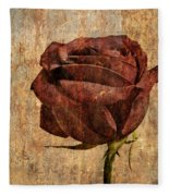 Rose En Variation - S22ct05 Fleece Blanket