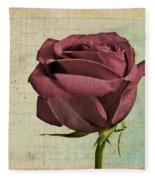 Rose En Variation - S23ct06 Fleece Blanket