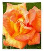 Rose For You Fleece Blanket