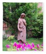 Rose Garden 1 Fleece Blanket